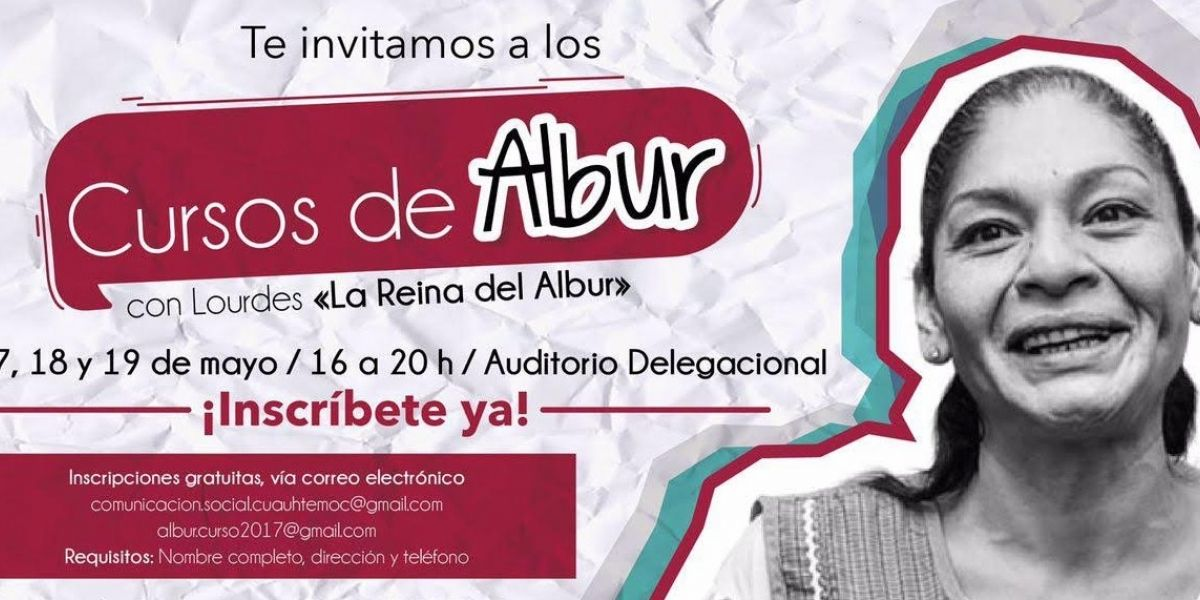 Darán clases de albur en la delegación Cuauhtémoc