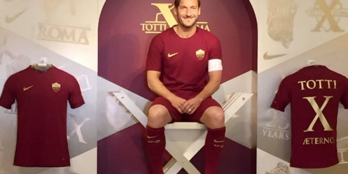 Francesco Totti: el adiós del último romántico