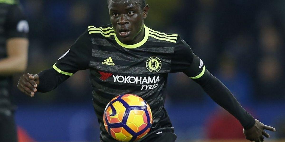 N'Golo Kanté volvió a derrotar a Alexis en votación como mejor jugador de la Premier