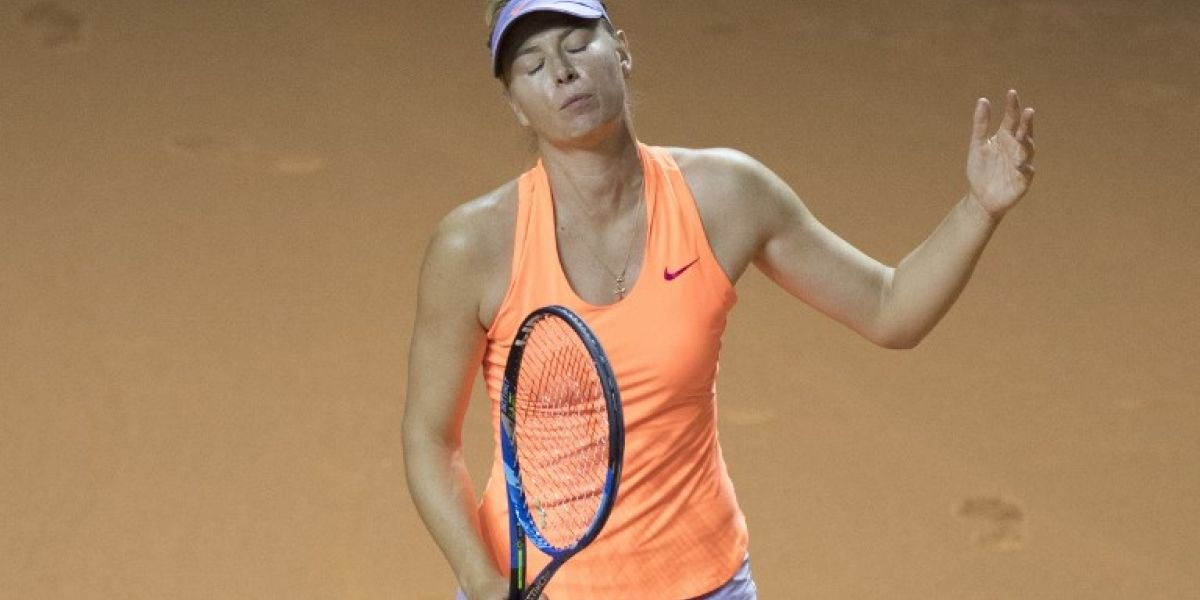 """María Sharapova se despidió del WTA de Madrid ante tenista que la calificó de """"tramposa"""""""