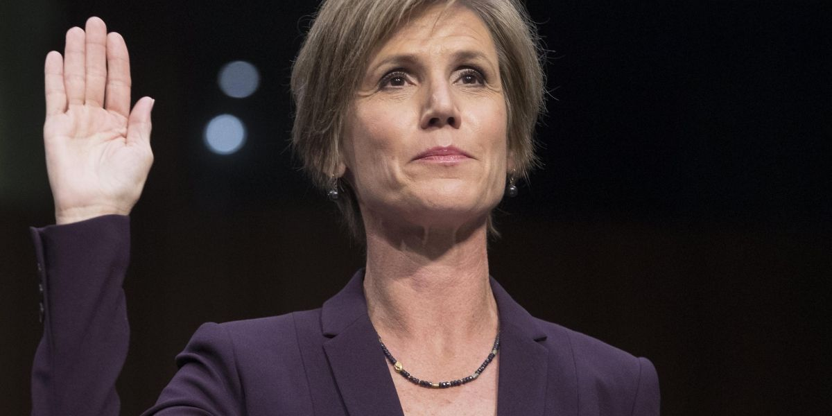 Exfiscal general avisó a Trump del peligro de un