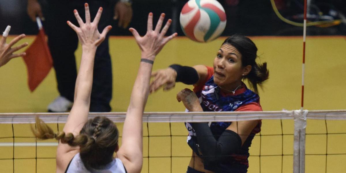 Karina Ocasio, la más valiosa del voleibol femenino