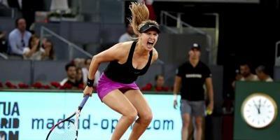 Sharapova avanza a segunda ronda en Madrid