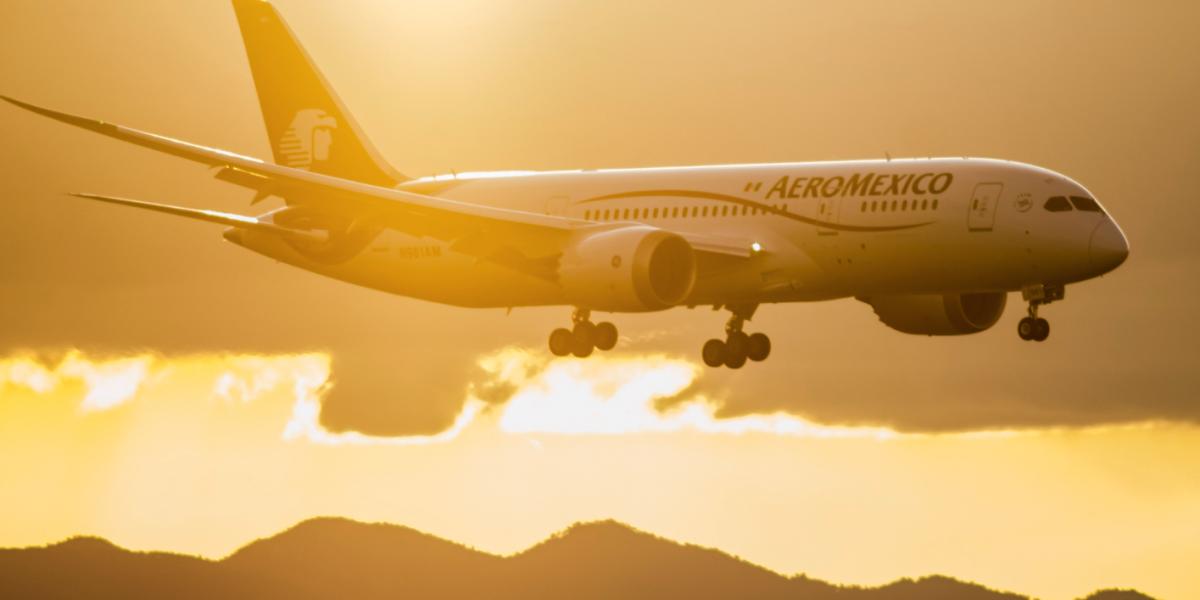 Aeroméxico y Delta formalizan alianza para  vuelos México-EU
