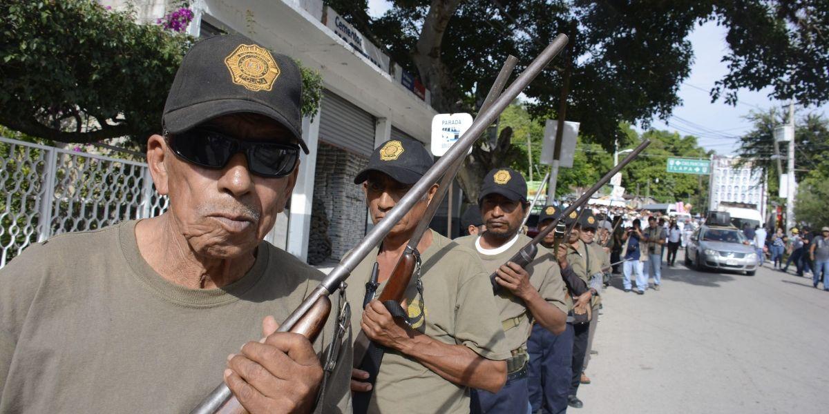 Más de 200 comunidades de Guerrero inician autodefensas contra la delincuencia organizada