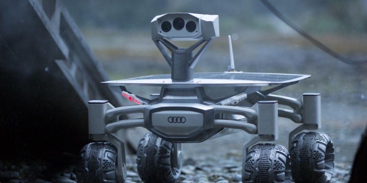 El cine lleva a Audi al espacio