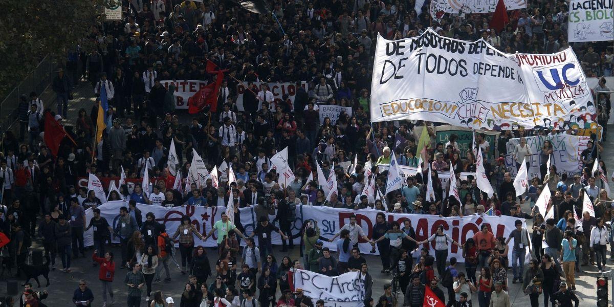 Intendencia Metropolitana autoriza el recorrido de la marcha convocada por la Confech