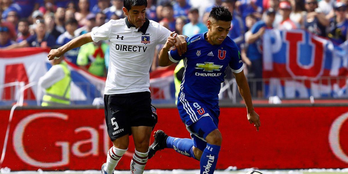 Colo Colo y la U jugarán en simultáneo en la candente definición del Clausura