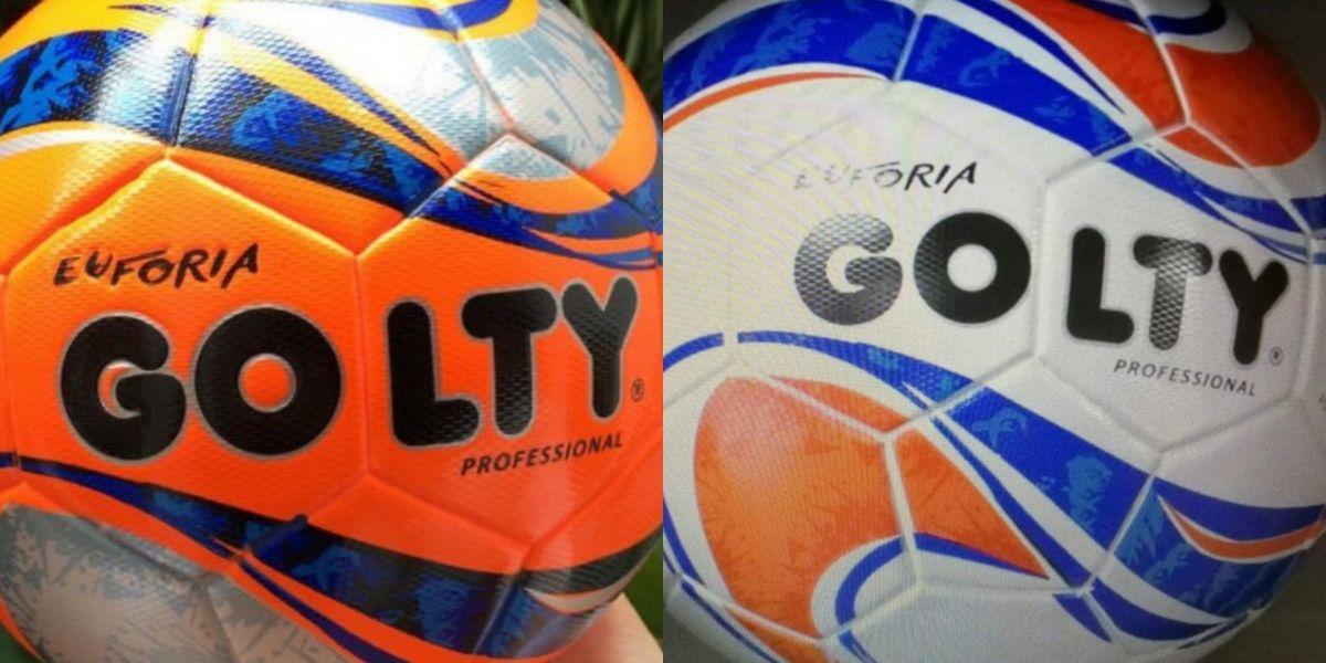 Este sería el nuevo balón del fútbol colombiano ¿Les gusta?