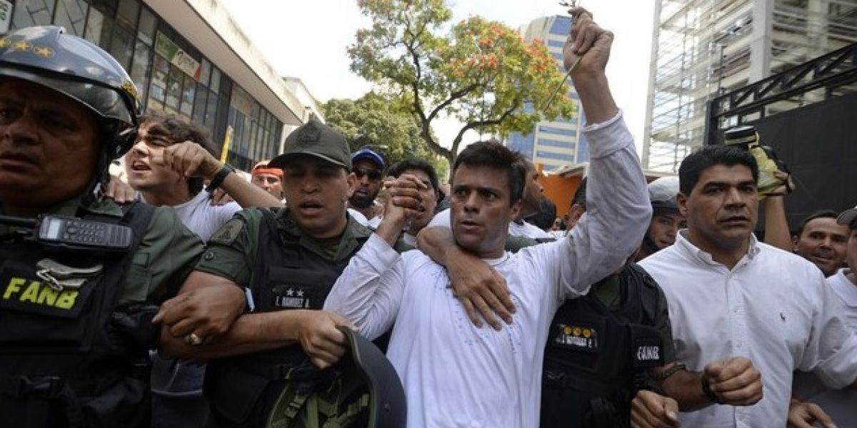 Leopoldo López envía mensaje a soldados venezolanos desde la cárcel