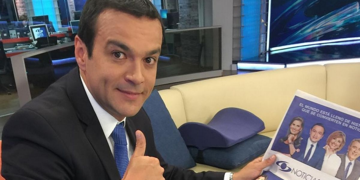 El presentador Juan Diego Alvira será papá