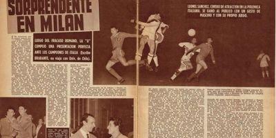 Inter de Milán desafía a Universidad de Chile