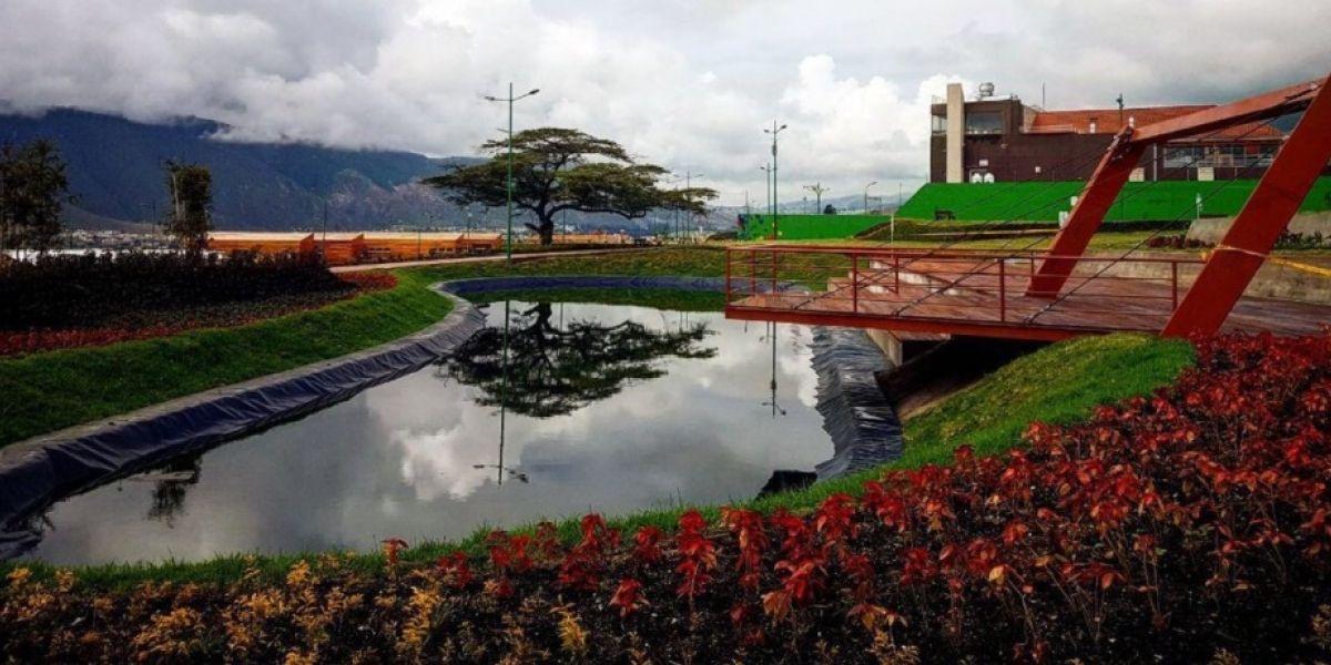 Presidente Correa inauguró el Parque Unasur