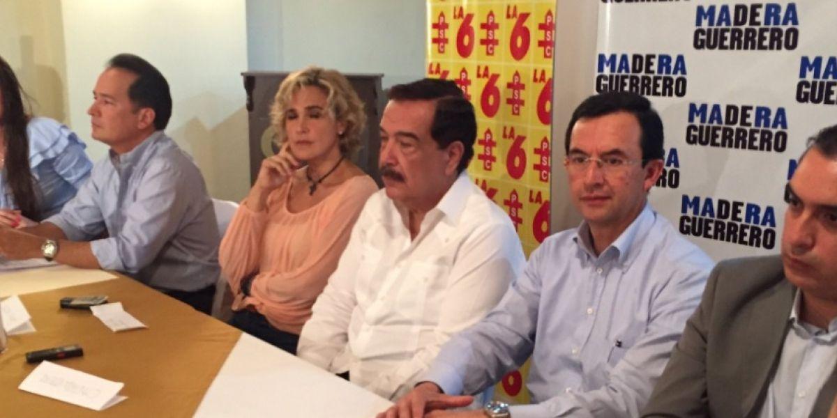 Partido Social Cristiano anunció cambios en su bancada
