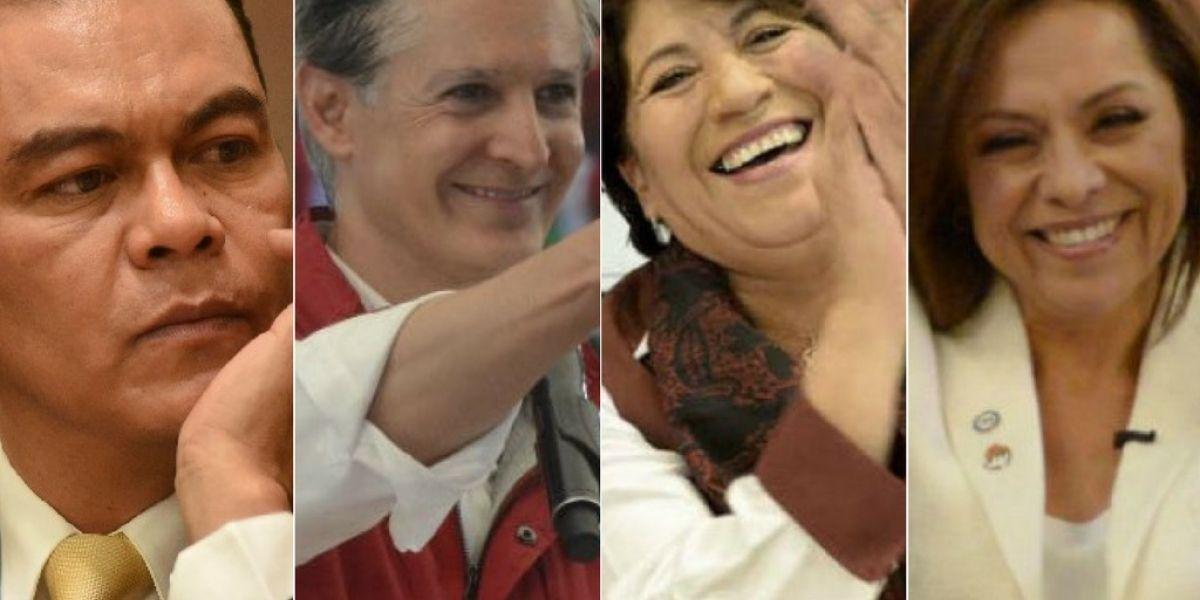Así llegan los candidatos al segundo debate por el Edomex