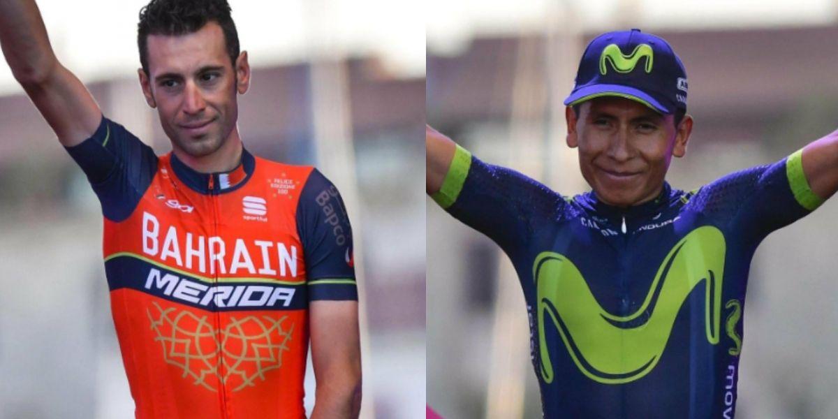 Nibali, el primer rival de Nairo rumbo al título del Giro