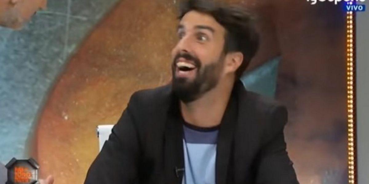 """VIDEO: """"Yo me la he co…"""" confesión que se le """"salió"""" a periodista deportivo en programa en vivo"""