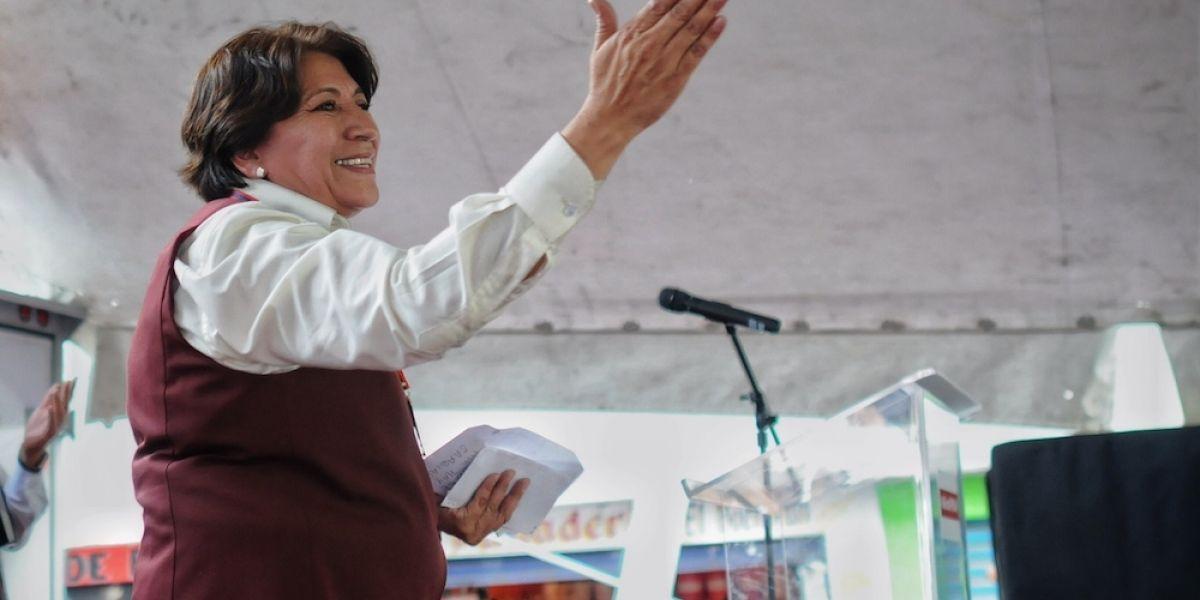 PAN denuncia a Delfina Gómez ante Fepade por desvío de recursos