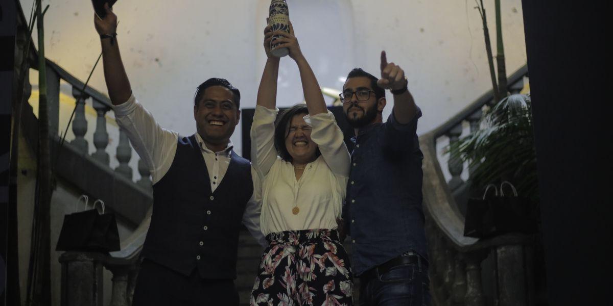 """El título del """"Mejor bartender de México 2017"""" fue para una mujer"""