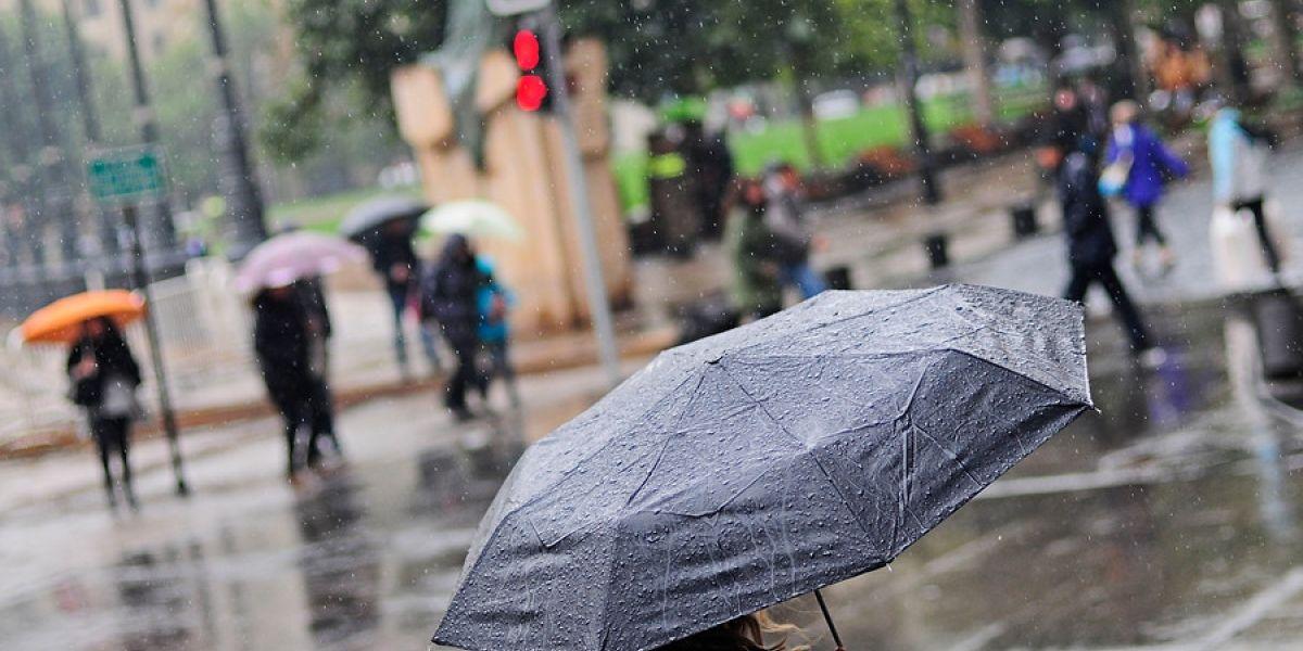 ¿Sigue la lluvia? meteorología advierte que precipitaciones regresarán durante la semana a Santiago