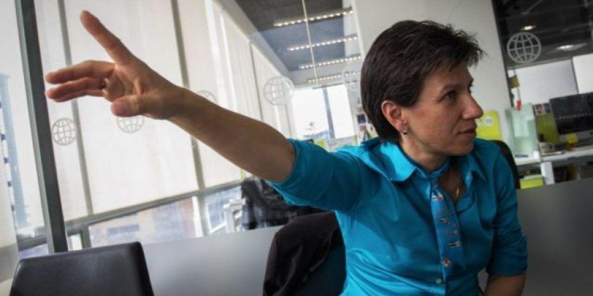 Claudia López no es mi presidenta