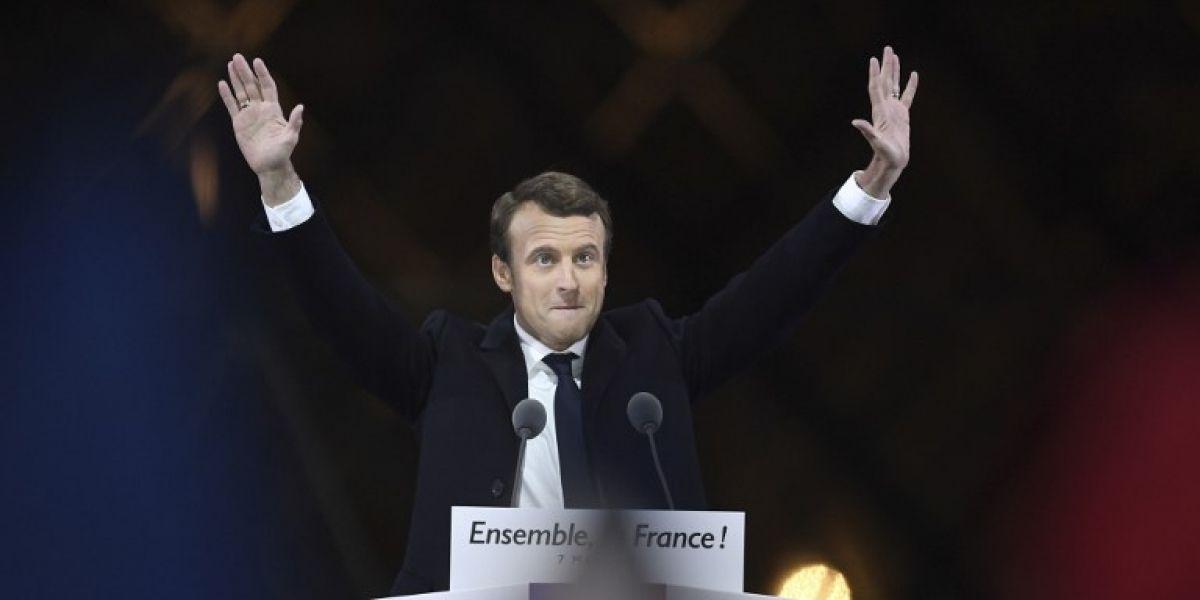 Así reaccionó el mundo por el triunfo de Emmanuel Macron en Francia