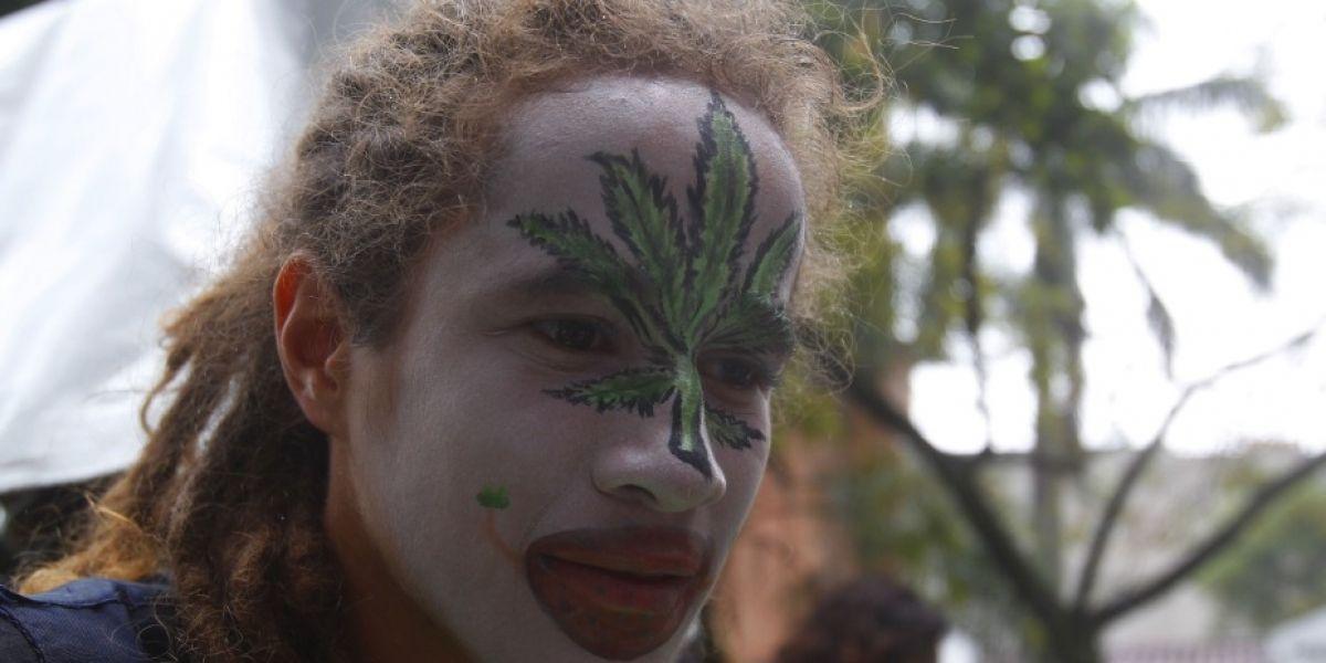 Así fue la marcha en Medellín que pide la despenalización de la marihuana