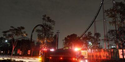 Se incendia negocio dentro de la Feria de Chapultepec