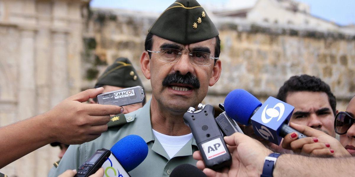 General Palomino dice que le dará la cara a la justicia