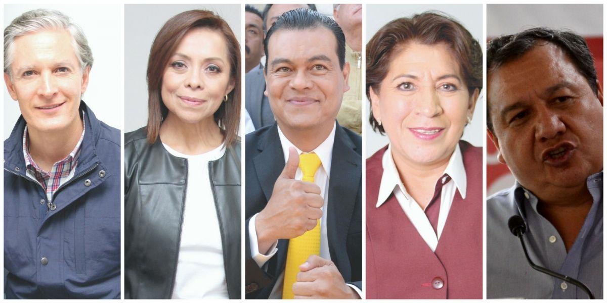 Candidatos al Edomex se 'copian' propuestas en seguridad, apoyos y transporte
