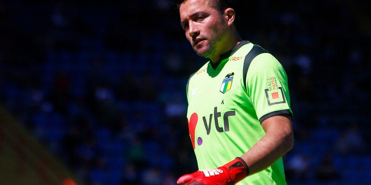 Miguel Pinto no se cierra a la opción de jugar en Colo Colo