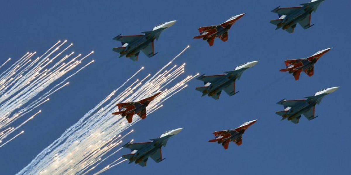 Rusia disolverá las nubes sobre Moscú para el desfile del Día de la Victoria