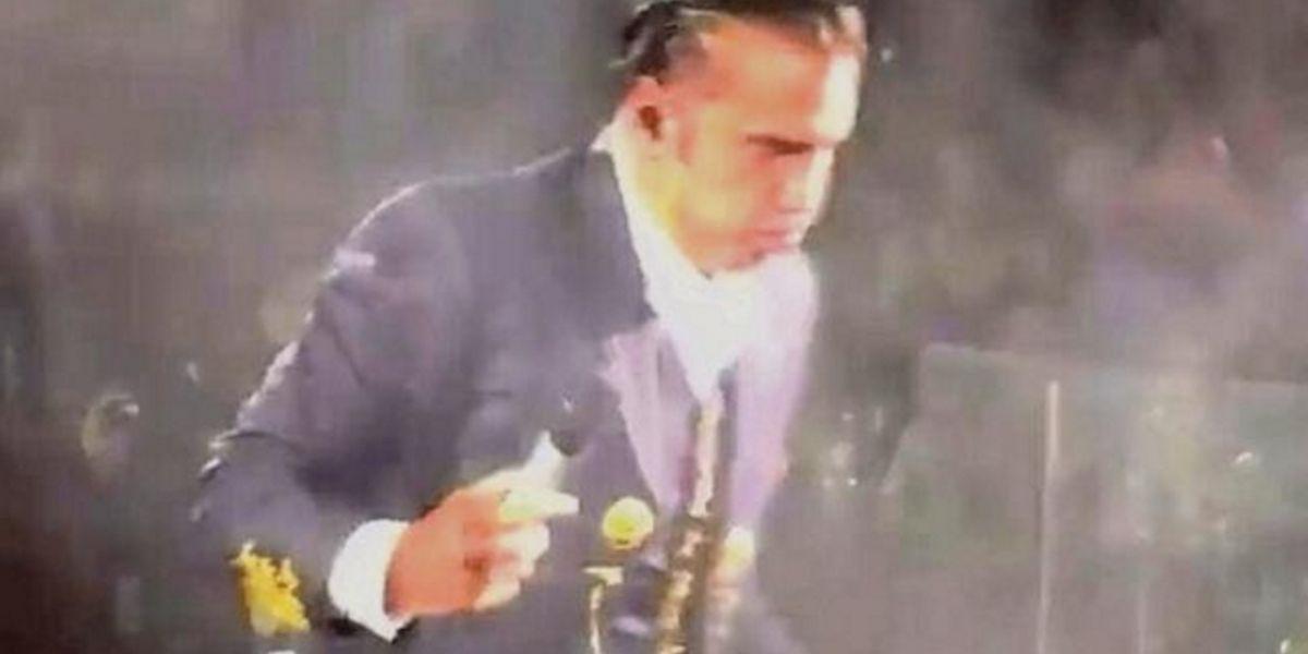 Alejandro Fernández lo explica todo, esta es la razón por la cual vomitó en Puebla