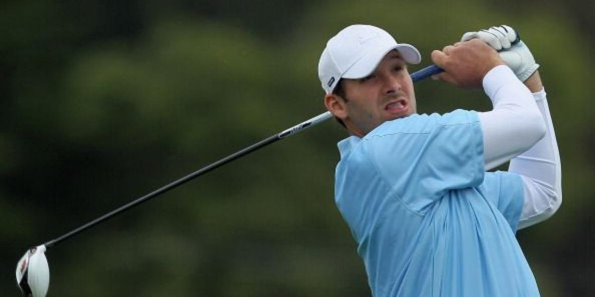 Tony Romo busca participar en el U.S. Open de Golf