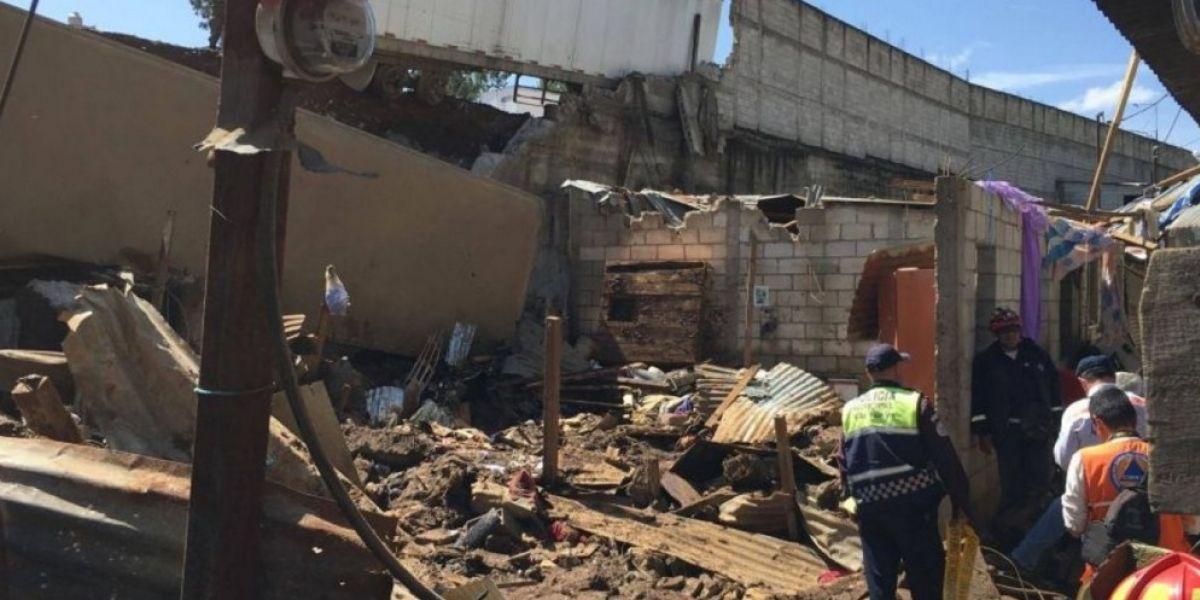 Continúa búsqueda de menor en Santa Isabel 2, tras deslizamiento