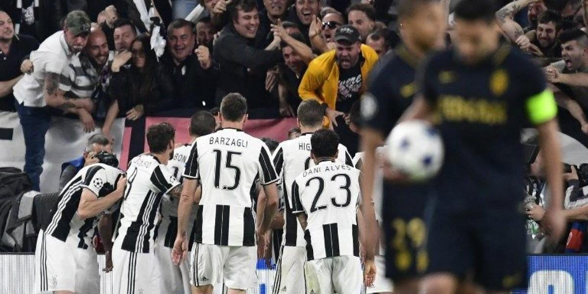 Juventus cumplió el trámite ante Mónaco y jugará su segunda final de Champions en tres años