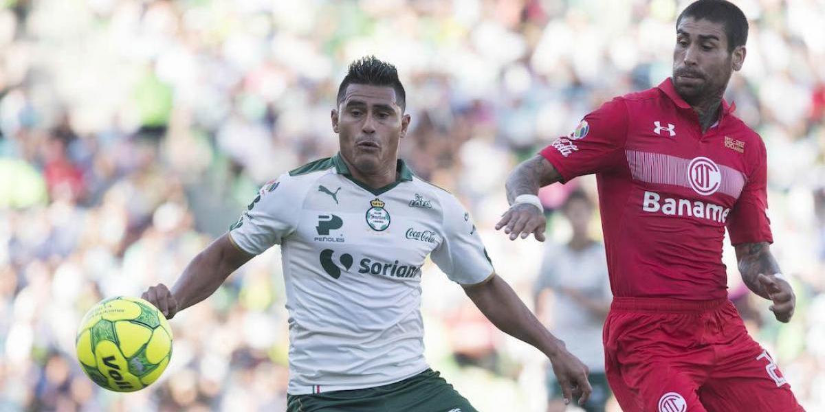 Santos vs. Toluca, ¿a qué hora juegan la Ida de Cuartos de Final del Clausura 2017?