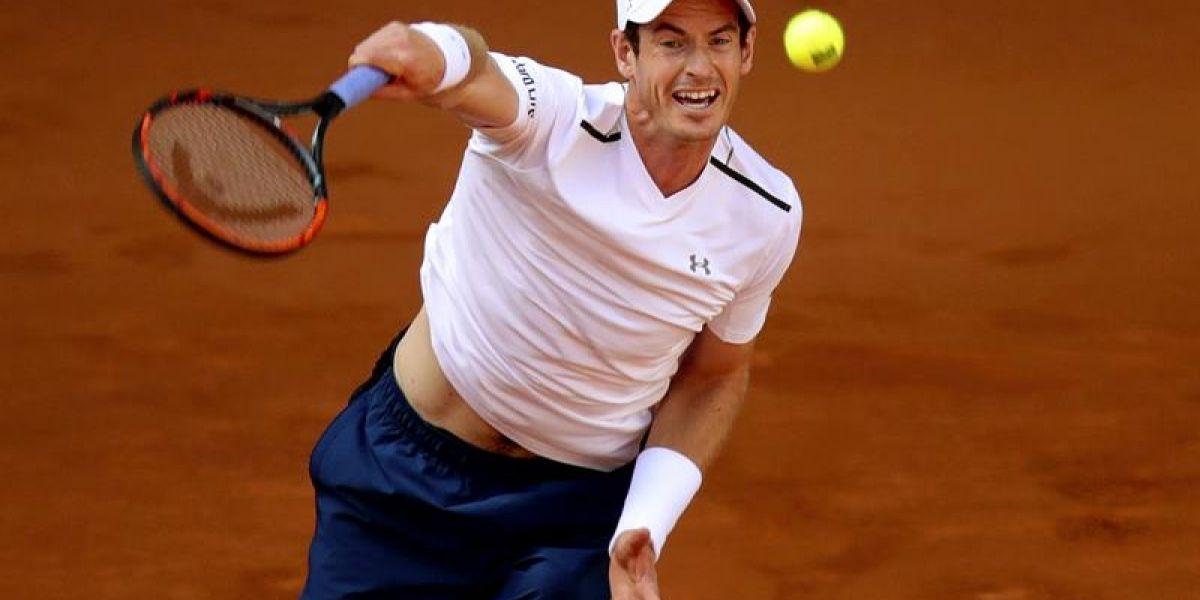 Andy Murray tuvo un sólido estreno en la arcilla de Madrid