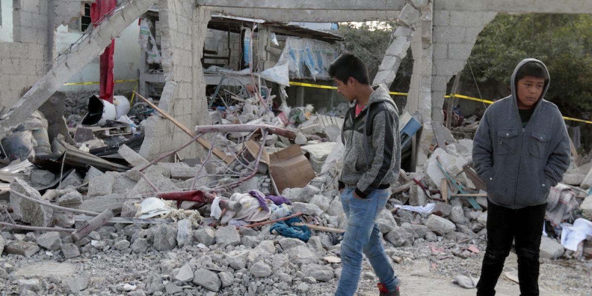 Peña Nieto envía condolencias a familiares de víctimas de explosión en Puebla