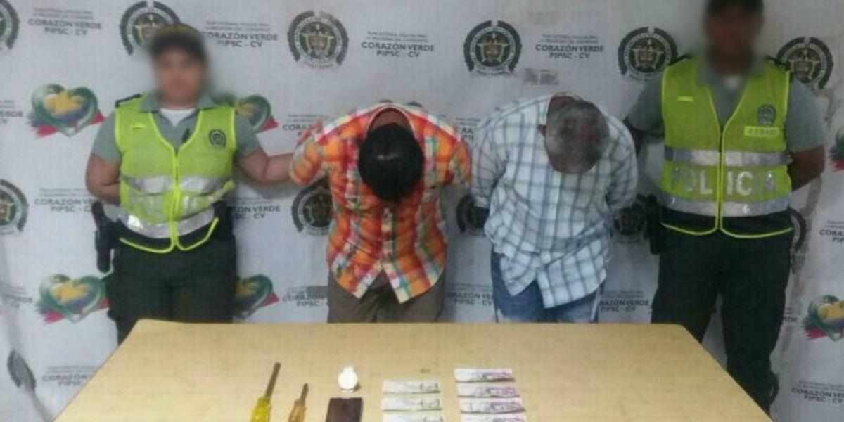 Capturaron a dos abuelitos robando en Barranquilla