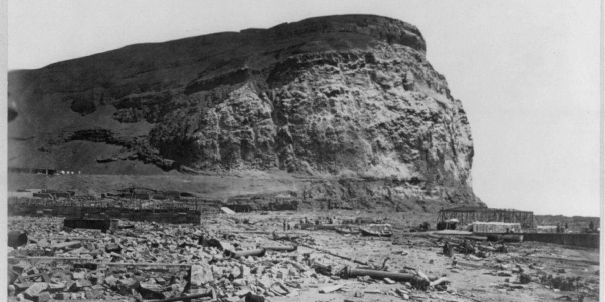 A 140 años del último mega terremoto y tsunami que afectó al norte de Chile