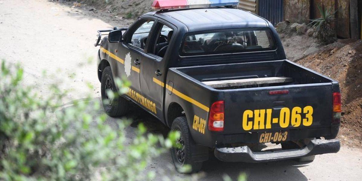 Dos agentes de PNC y un reo mueren tras ataque armado en Chimaltenango