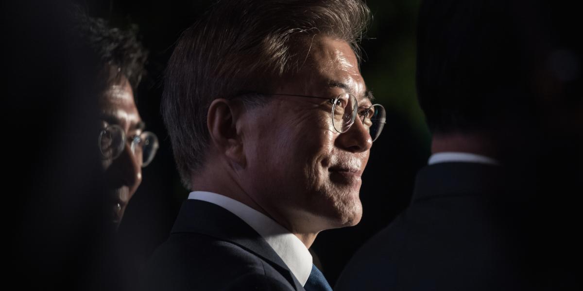 Asume nuevo presidente en Corea del Sur bajo la peligrosa sombra del Norte
