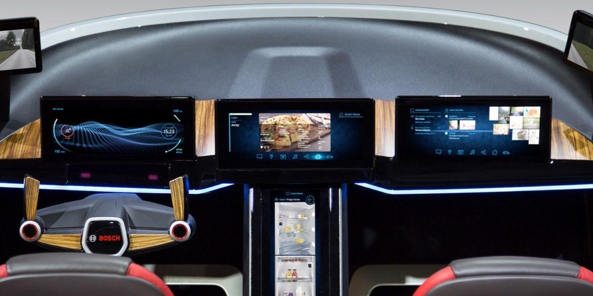 La novedosa propuesta de Bosch para su vehículo autónomo
