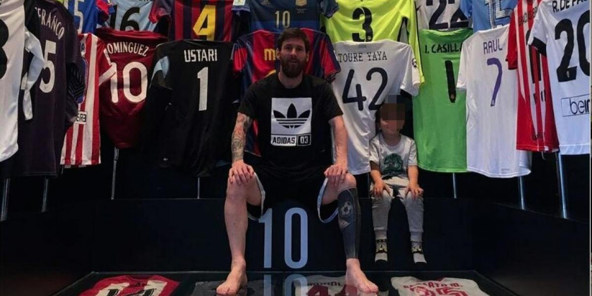 Messi da a conocer colección de playeras; entre ellas una del León