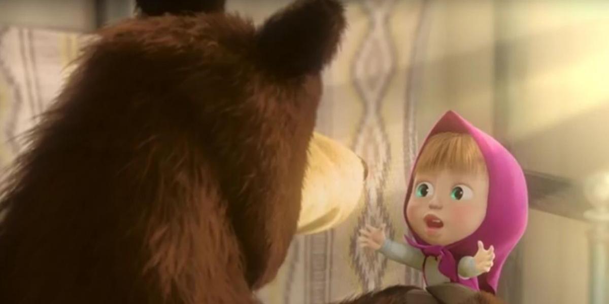"""""""Masha y el oso"""" trae su show oficial al Chile"""