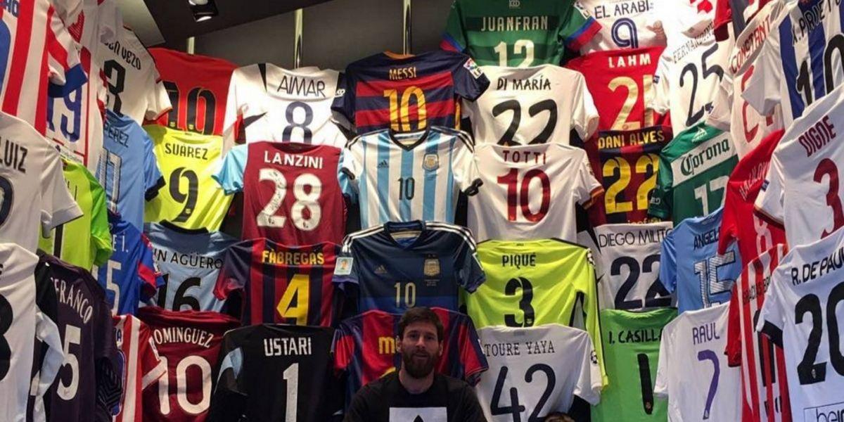 Falcao, el colombiano que tiene un lugar en el museo de Messi