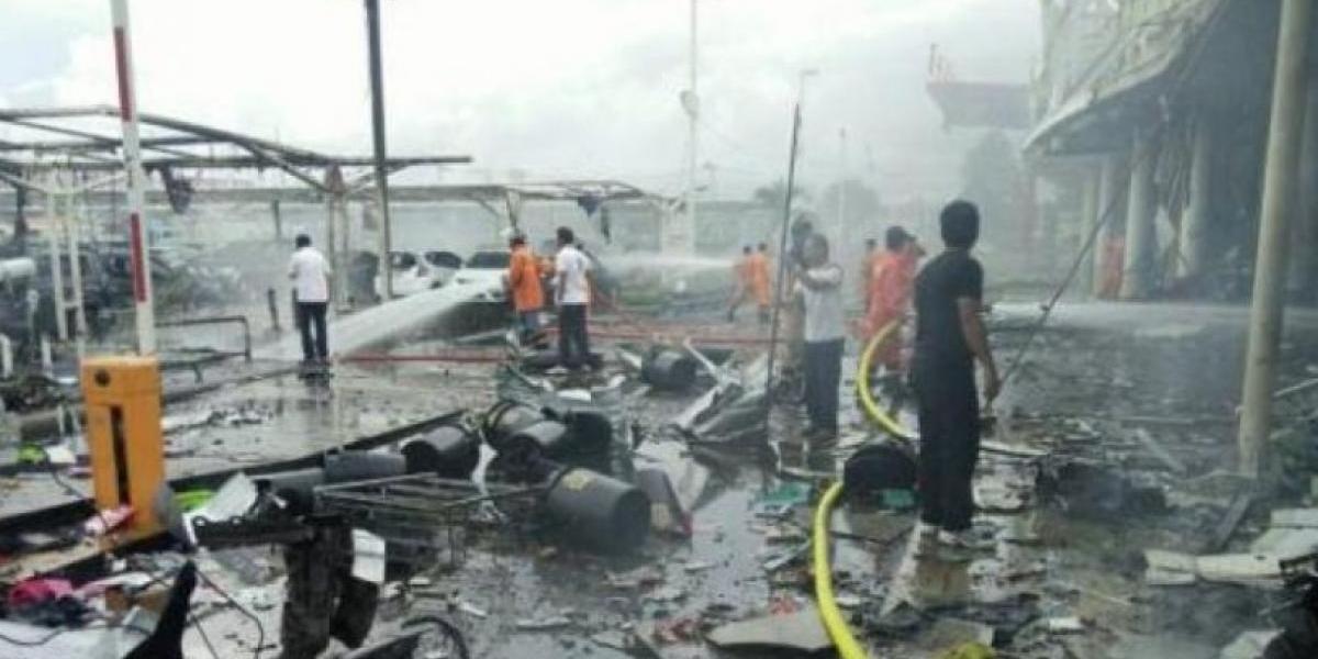 Al menos 40 heridos tras explosiones con bomba en zona turística de Tailandia