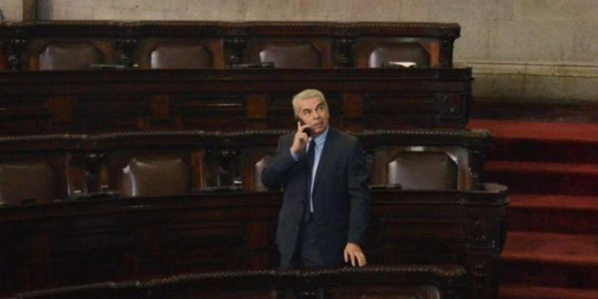Capturan en Monterrey al ex presidente del Congreso de Guatemala, Luis Rabbé