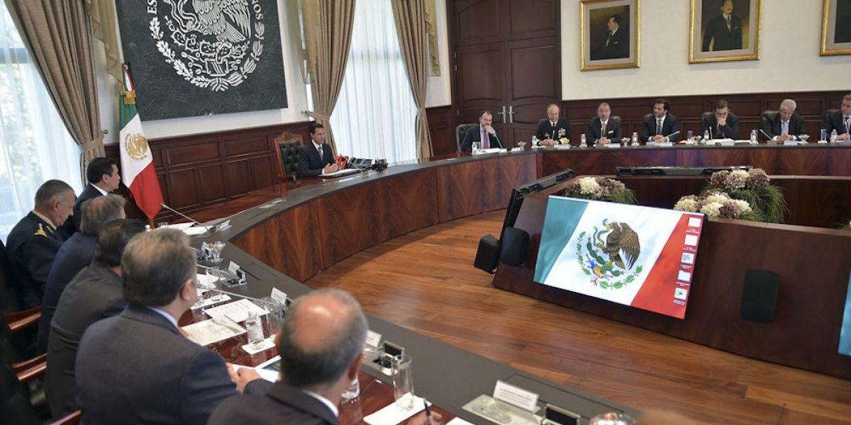 Recibe Peña Nieto informes de su Gabinete en Los Pinos